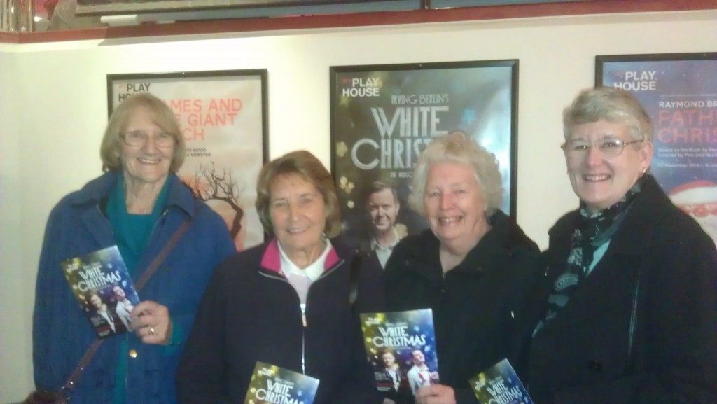 "December 2014 - ""White Christmas"" at West Yorkshire Playhouse"