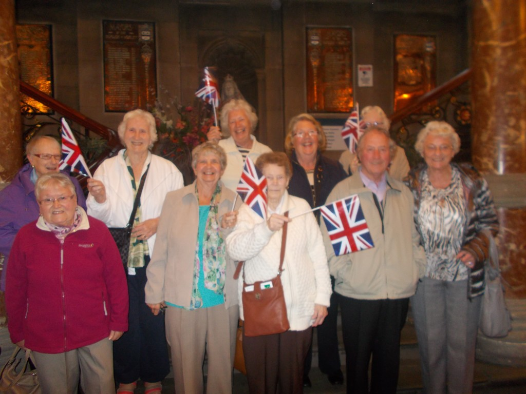 """3rd October 2015 - Morley Town Hall  """"When The Lights Go On Again"""""""