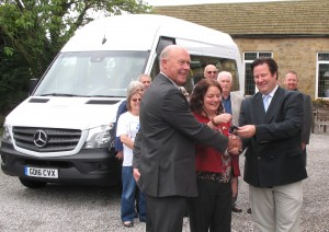 Hand over of Mini Bus