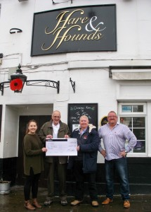 Hare and Hounds fund raising